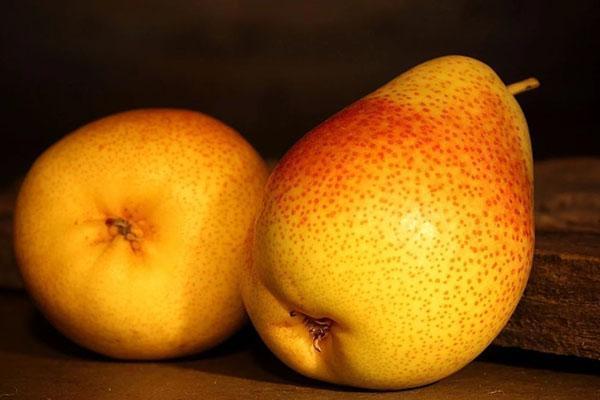 микроэлементы в плодах груши