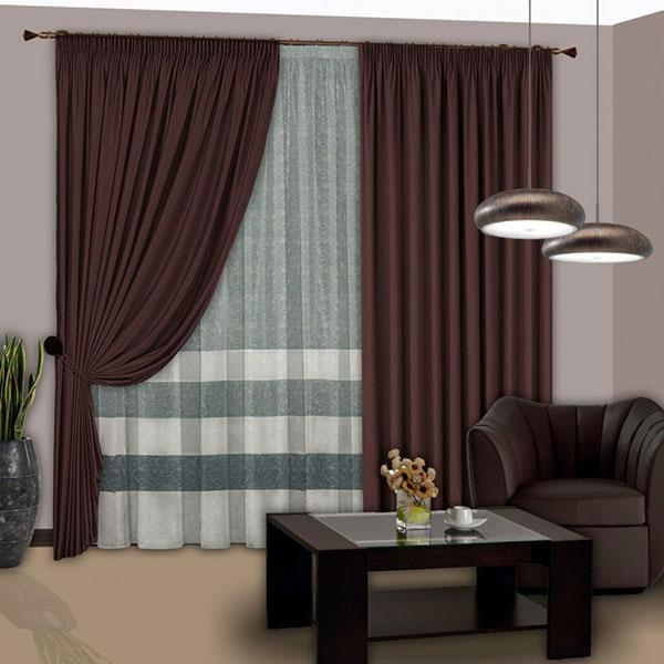 цветовое сочетание мебели и штор