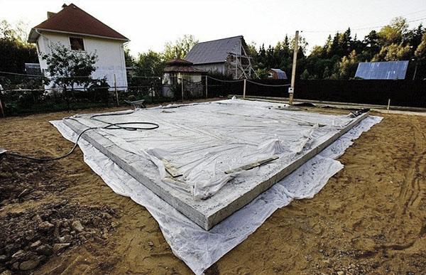 уход за бетонным свайно-ростверковым фундаментом