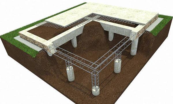 устройство свайно-роствекрового фундамента