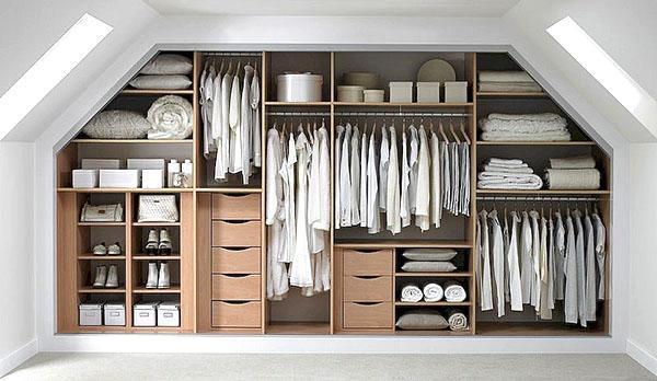 свет и вентиляция в гардеробной