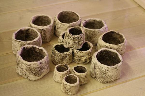 керамические горшки для опунции