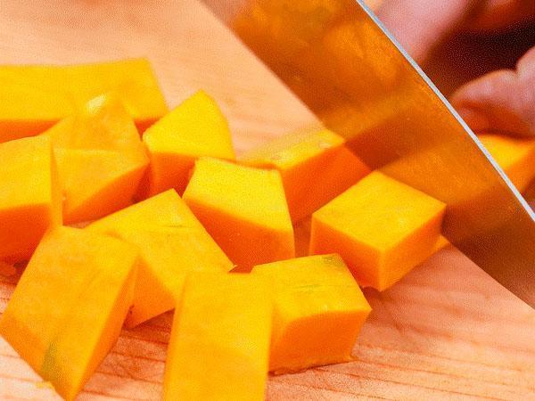 заморозка сырой тыквы