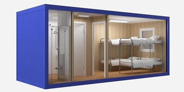 комната, душ и туалет
