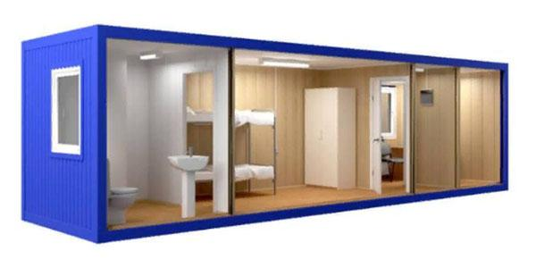 две комнаты, туалет и душевая