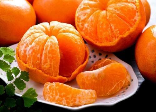 состав мандаринов