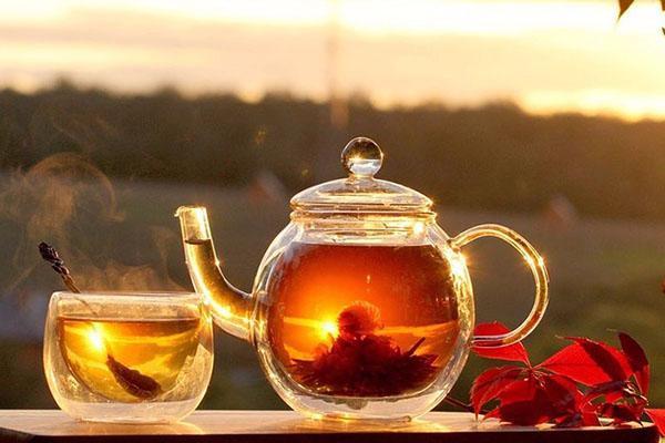 чай с княженикой