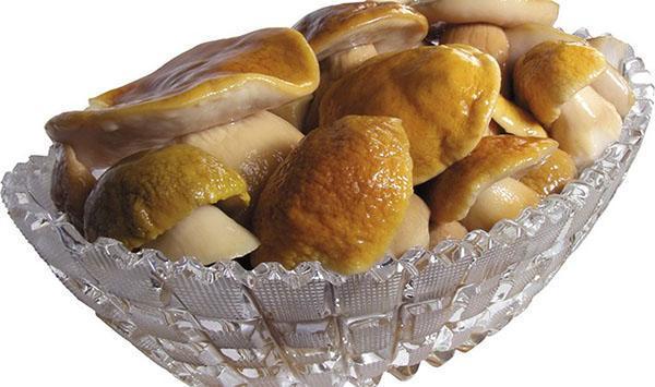 вкусные белые грибы зимой