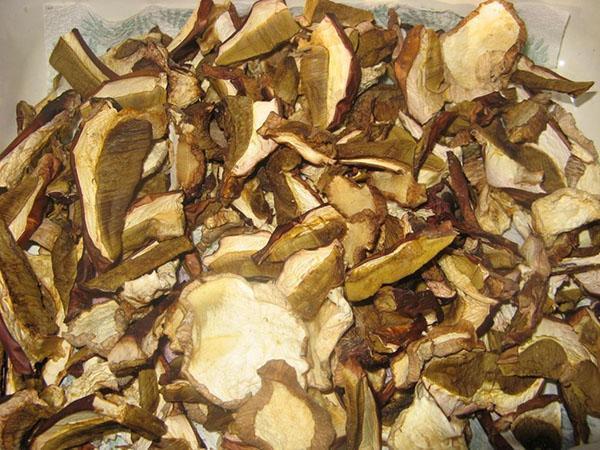 сухие белые грибы