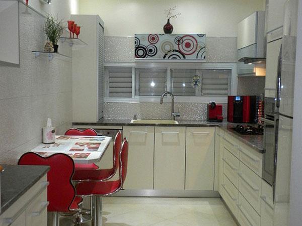 цветовое решение интерьера кухни