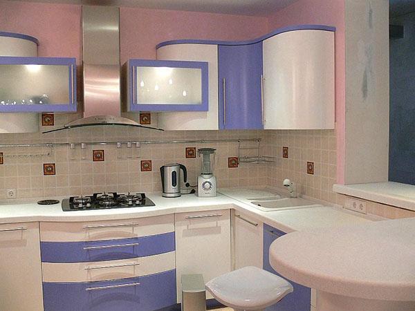 теплые цвета кухонного гарнитура