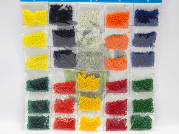 упаковки цветного гидрогеля