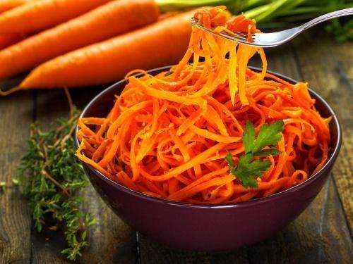 как кушать морковь