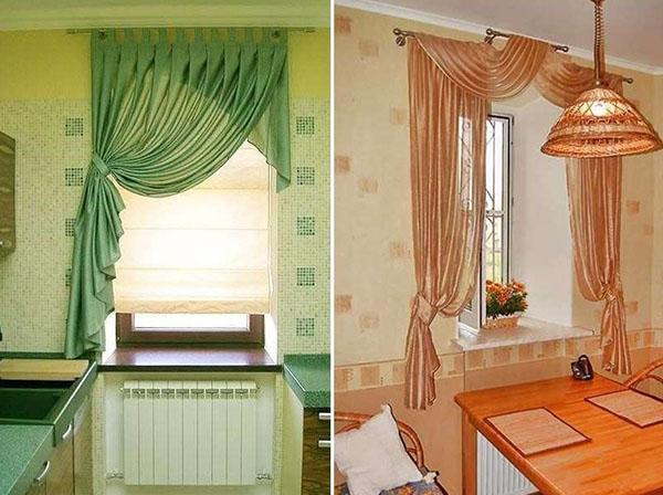 узкие шторы