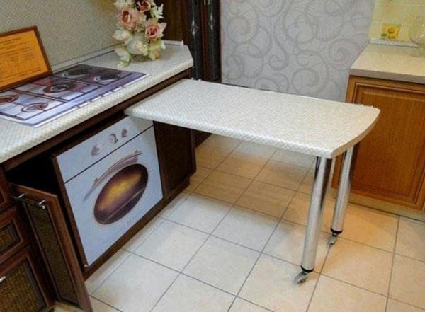 выдвижной кухонный стол