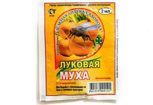препарат против луковой мухи