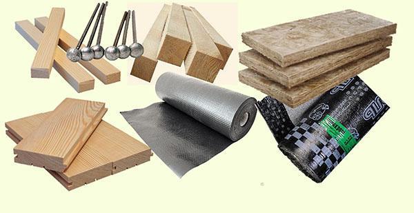 материалы для односкатной крыши