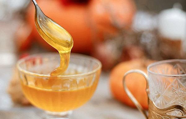 калорийность тыквенного меда