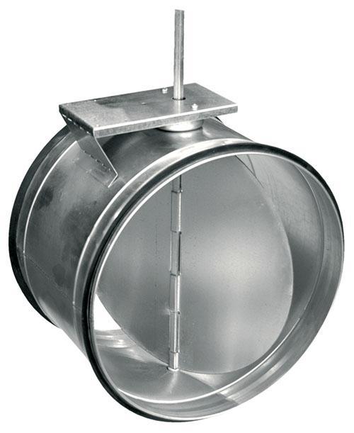 дисковый воздушный клапан