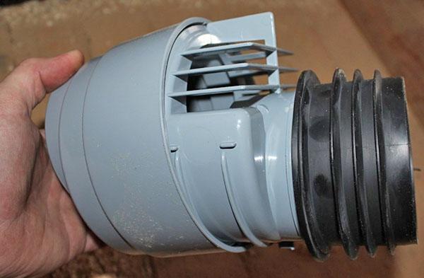 конструкция воздушного клапана для канализации