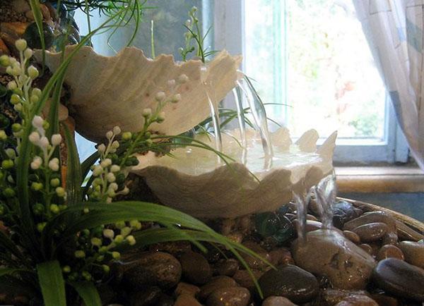 декоративный комнатный фонтан своими руками