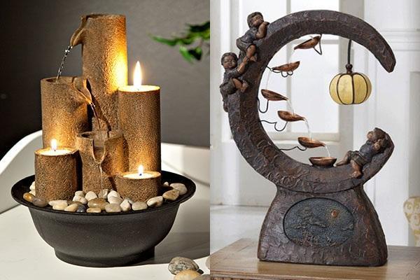 оригинальный дизайн комнатных фонтанчиков