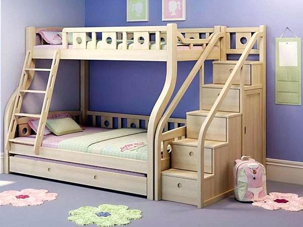 лестница с ящиками