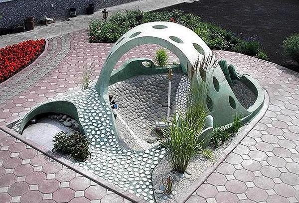 уникальная модель фонтана для дачи