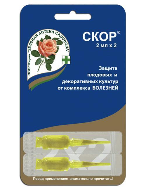 препарат скор в капсулах