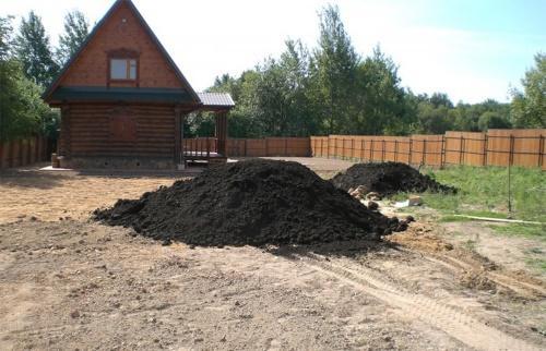 досыпание почвы