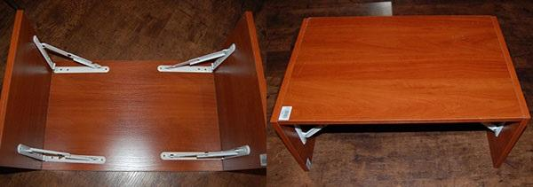 столик кроватный из полок