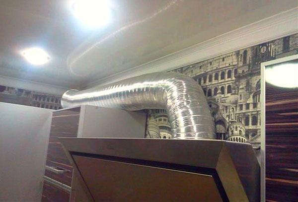 гофрированный воздуховод