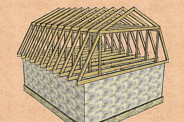 проектирование мансардной крыши