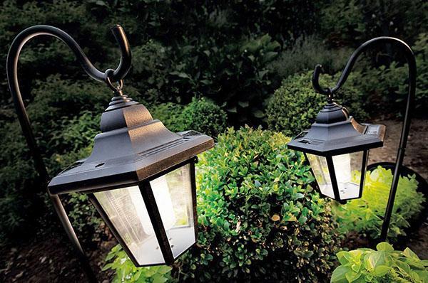 подвесные уличные фонари
