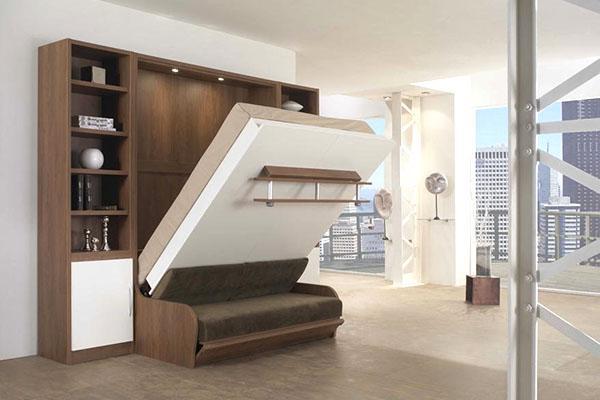 большая откидная кровать
