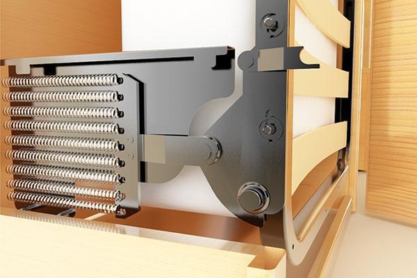 рабочий механизм откидной кровати