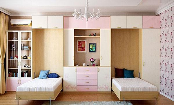откидная кровать шкаф в разложенном виде