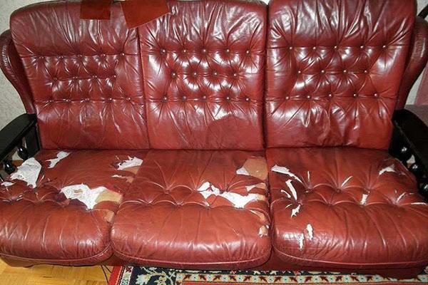 нужна перетяжка обивки дивана