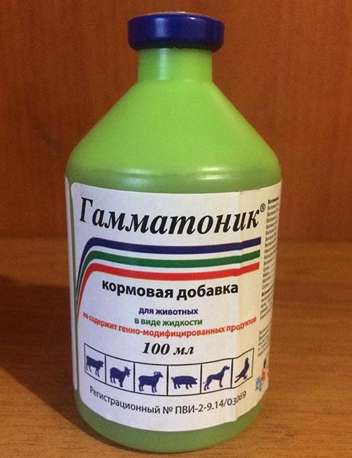 гамматоник в пластиковой бутылке