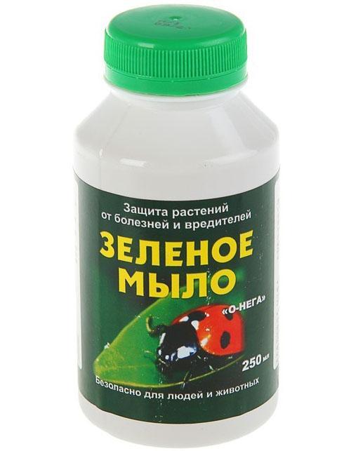 зеленое мыло для обработки цитрусовых