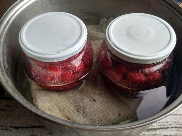 прогревание ягод со спиртом