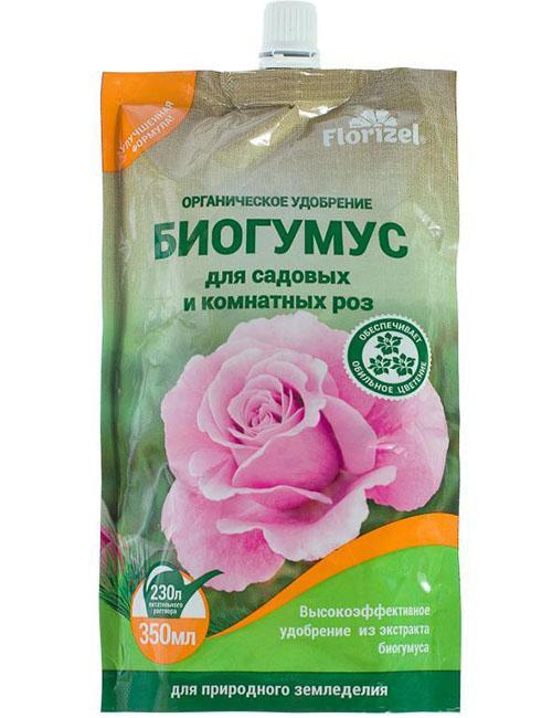 жидкий биогумус для роз