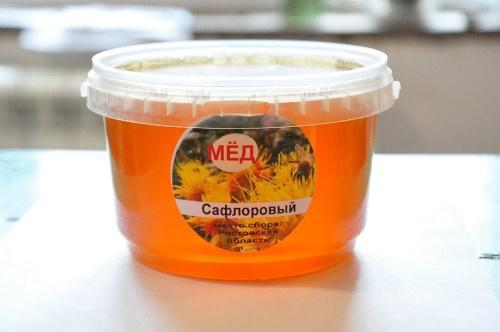целебные свойства меда из сафлора