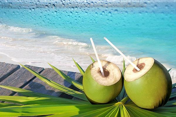 низкая калорийность кокосовой воды