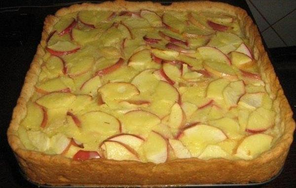 нежный ароматный яблочный пирог