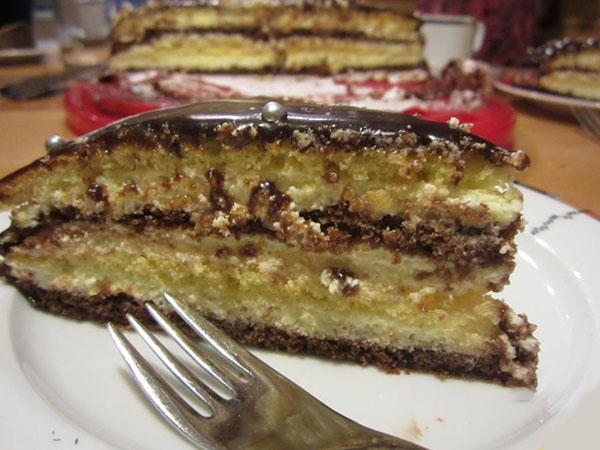 вкусный нежный торт