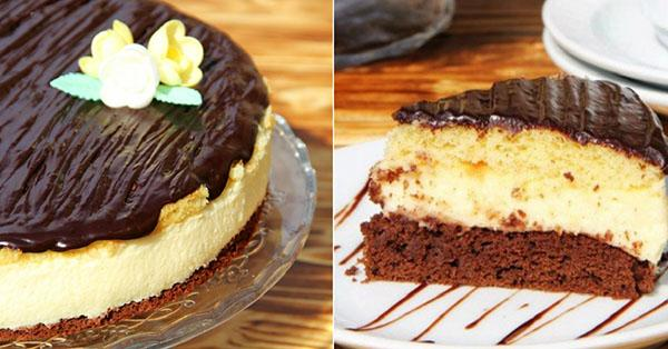 Рецепт торта с кремом из манки и лимона