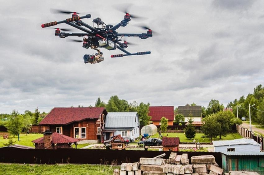 Дачники под прицелом дрона