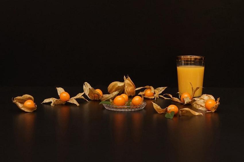 Сок из плодов физалиса