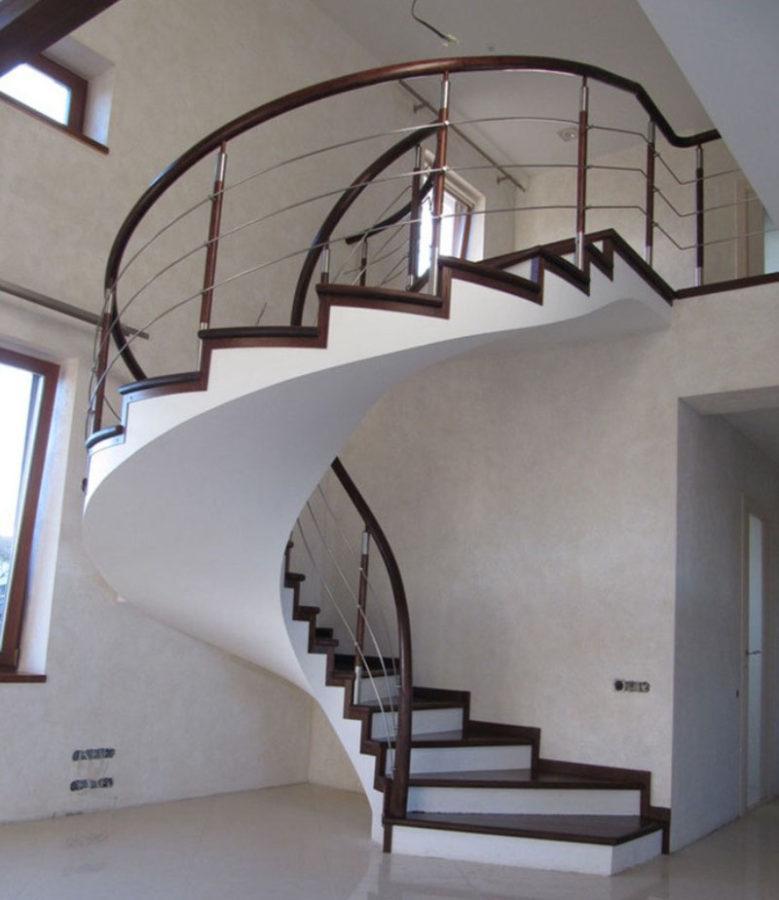 бетонные лестницы практичные и красивые